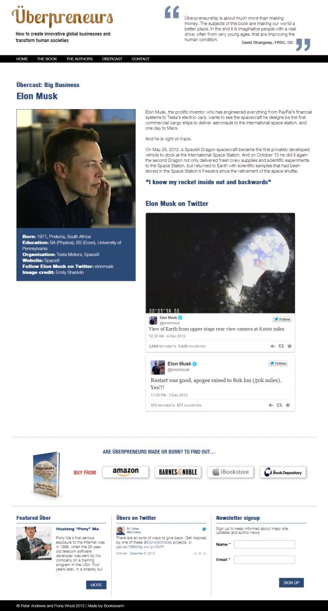 Überpreneurs » Elon Musk