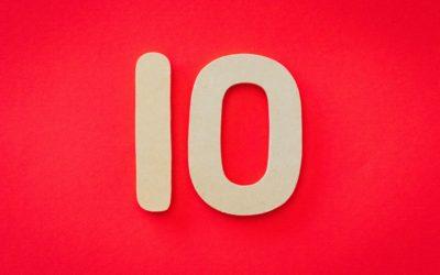 Ten Years, Ten Things