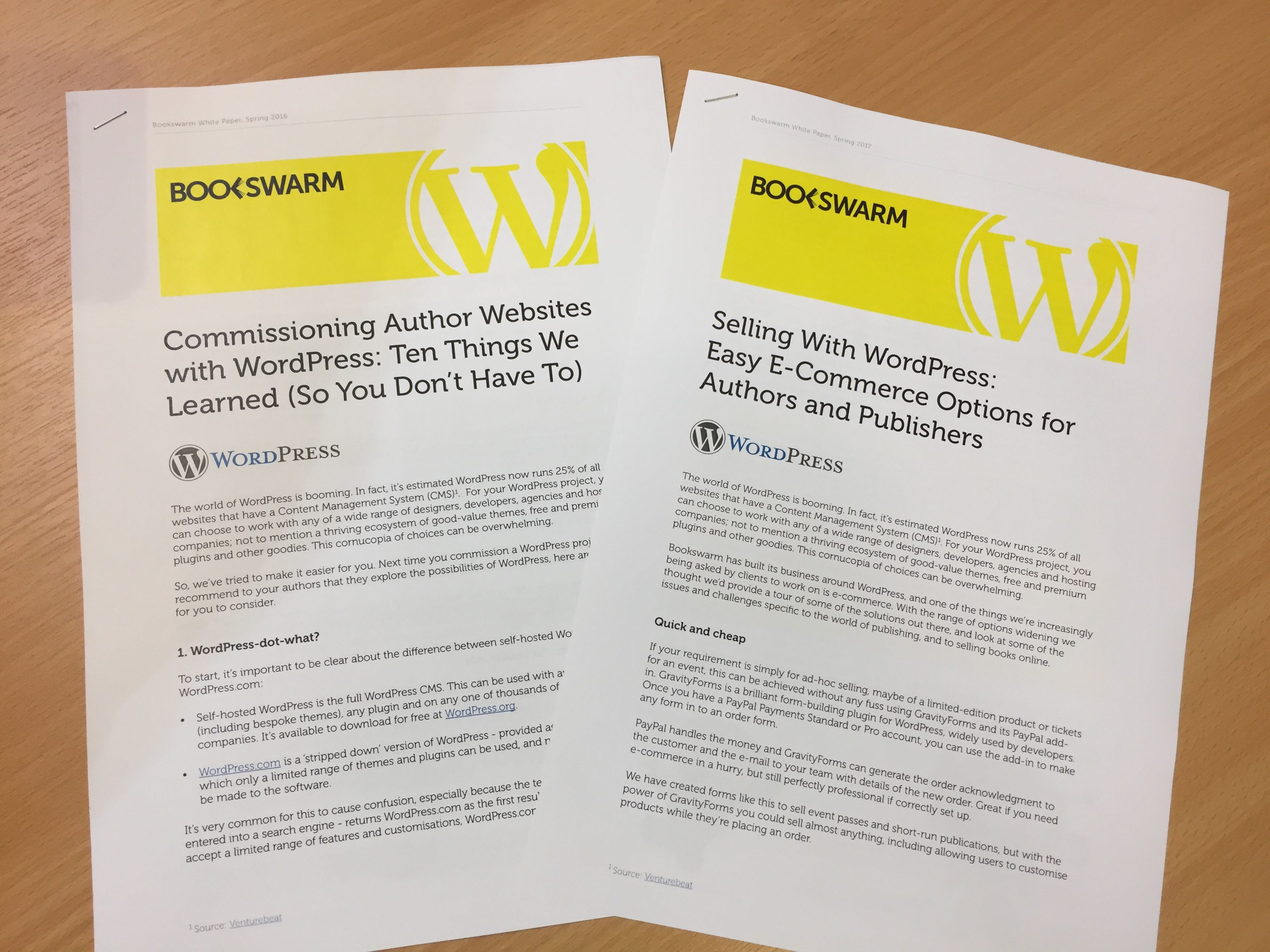 Download our latest White Paper on e-commerce options for WordPress