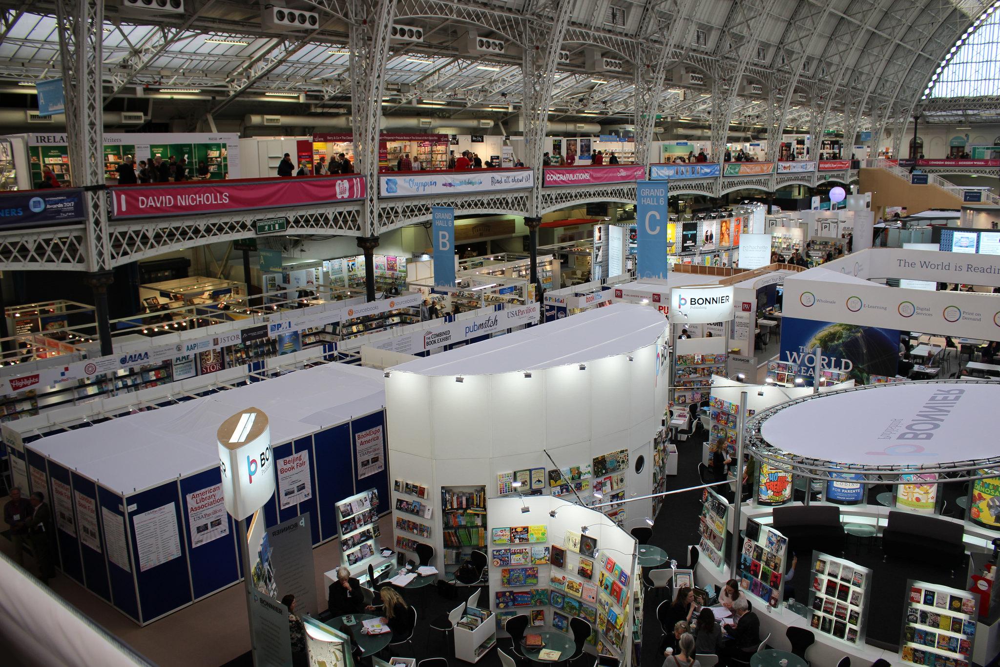 Meet with Bookswarm at London Book Fair 2020