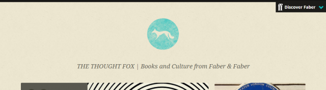 The Thought Fox - Books and Culture from Faber & FaberThe Thought Fox