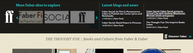 The Thought Fox - Books and Culture from Faber & FaberThe Thought Fox open