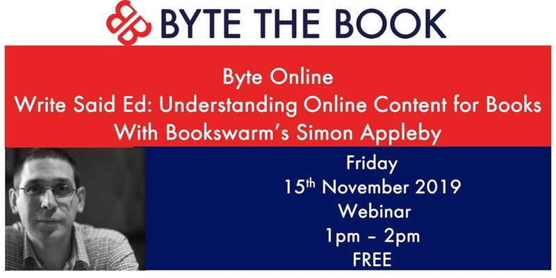 Free webinar about online content: 15th November, 1pm