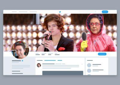 Twitter takeover for Virginia Bergin